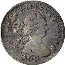 1800 LM-1. Rarity-3. Genuine – Damage – Fine Details PCGS.