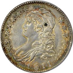 1811 O-104. Large 8. Rarity-1. Genuine – Cleaning – AU Details PCGS.