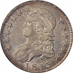 1813 O-103. Rarity-2. AU-53 NGC.