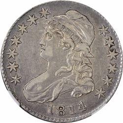 1814/3 O-101. Rarity-2. EF-40 NGC.
