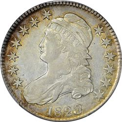 1823 O-101a. Patched 3. Rarity-1. VF-35 PCGS.