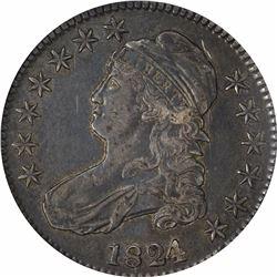 1824/1 O-101a. Rarity-2. EF-45 NGC.