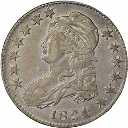 1824/Various Dates. O-103. Rarity-1. Genuine – Cleaning – EF Details PCGS.