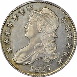 1827 O-146. Curl Base 2. Rarity-2. Genuine – Cleaning AU Details PCGS.