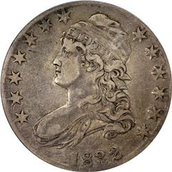1832 O-105a. Small Letters. Rarity-3. EF-40 PCGS.