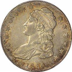 1834 O-117. Small Date, Small Letters. Rarity2. AU-58 PCGS.