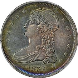 1837 Reeded Edge. Genuine – Questionable Color – AU Details PCGS.