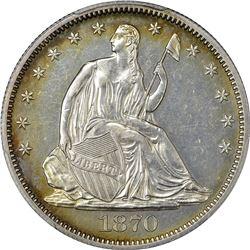 1870 Proof-61 PCGS.