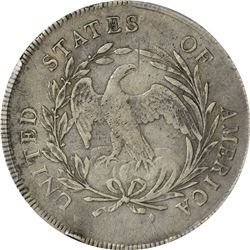 1798 BB-81, B-2. Small Eagle, 15 Stars. 3 Leaves. Rarity-4. VF-35 PCGS.