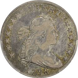 1798 BB-105, B-23. Large Eagle. Rarity-1. VF-30 PCGS.