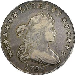 1799 BB-155, B-19. Rarity-5. VF-30 PCGS.