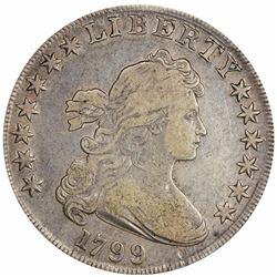1799 BB-166, B-9. Rarity-1+. Fine-15 PCGS.