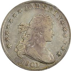 1801 BB-211, B-1. Rarity-2. Genuine – Cleaning -- VF Details PCGS.