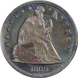 1869 Genuine – Questionable Color – Proof Details PCGS.