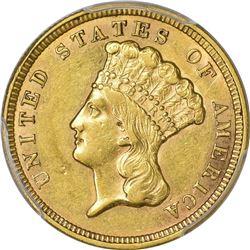 1856 Genuine – Filed Rims – AU Details PCGS.