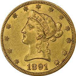 1891-CC AU-58 NGC.