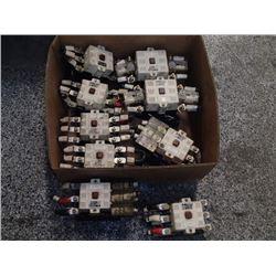 Fuji Contactors (2) SC-5N, (7) SC-4N