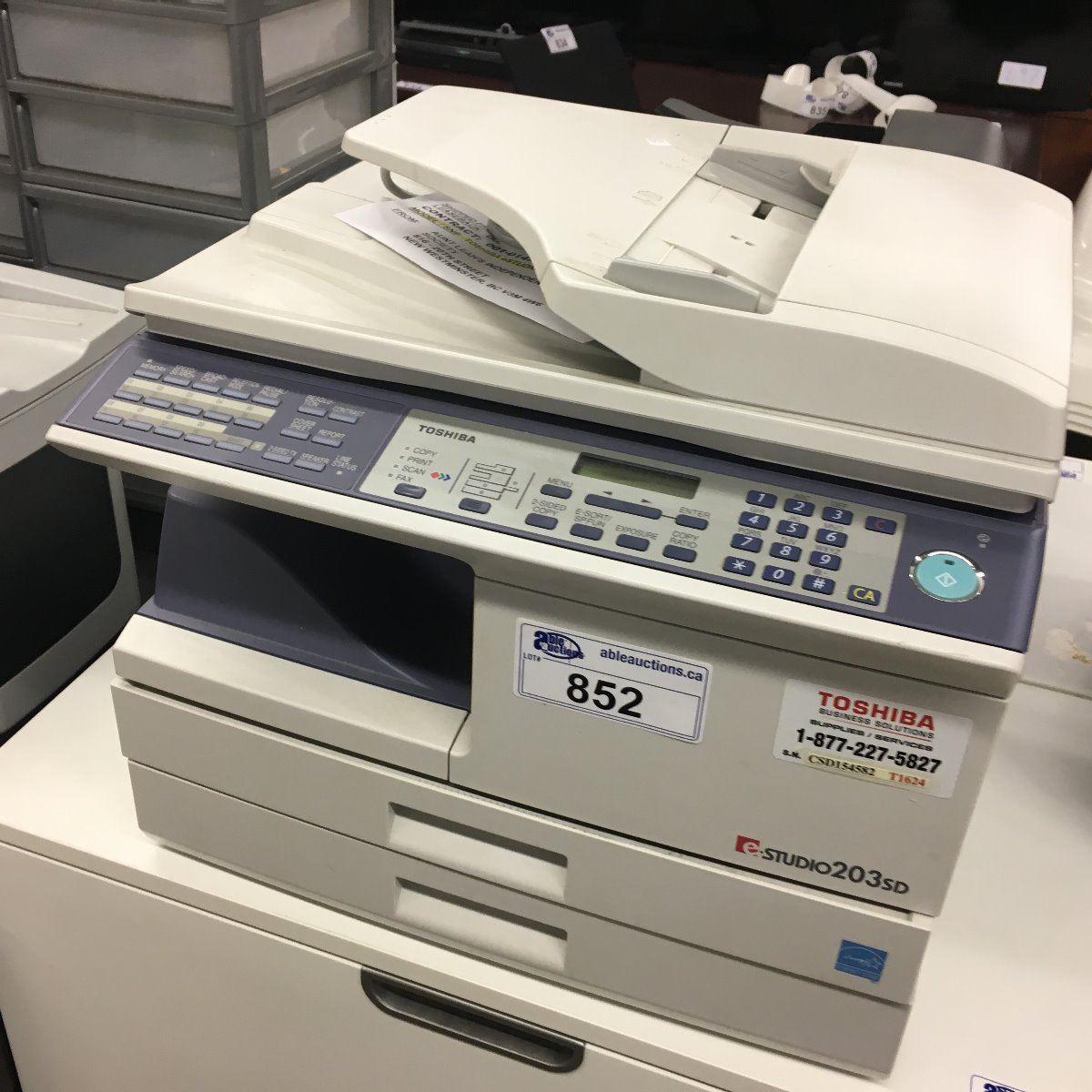 TOSHIBA E STUDIO 203SD WINDOWS DRIVER