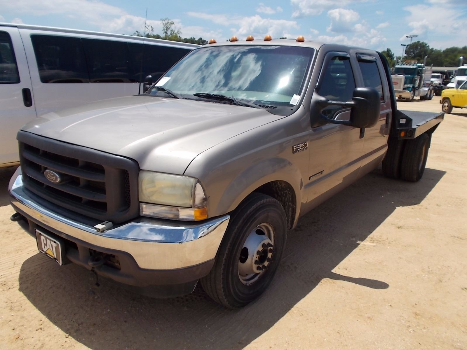 2002 Ford F350 >> 2002 Ford F350 Flatbed Vin Sn 1ftww32f62ea87078 S A Crew Cab 7 3l Power Stroke Diesel A T P S
