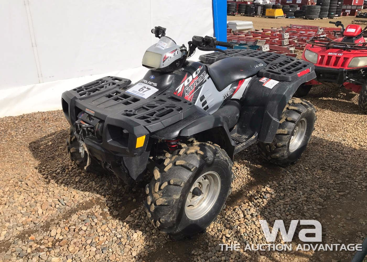 2004 POLARIS SPORTSMAN 700 TWIN ATV