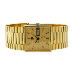 Rado 18KT Yellow Gold Vintage Men's Watch