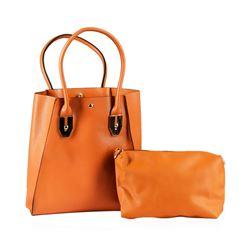 Camel Tote Handbag