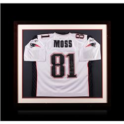 lowest price 9e0f5 45cf4 Randy Moss Framed Autographed Jersey