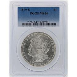 1879-S PCGS MS64 Morgan Silver Dollar