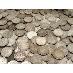 100 Morgan Silver Dollars - From Photo -