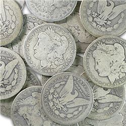 Lot of 300 Morgan Silver Dollars - AG-XF-AU and BU