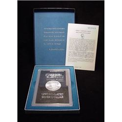 1884 Carson City Morgan GSA Offering