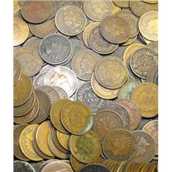 Lot of (100) Indian Head Cents - ag-g