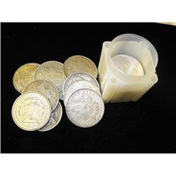 Lot of (20) Morgan Silver Dollars - xf plus