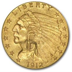 $2.5 Indian Head US Gold - Random