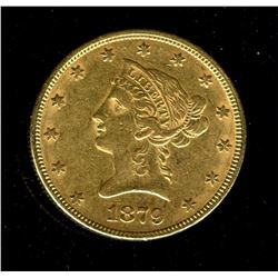 1879 $ 10 Gold Liberty Eagle