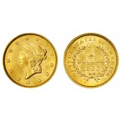 1853 $ 1 Gold Liberty Type I -
