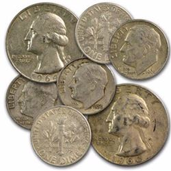 $1 Face Value 90% Silver Mix
