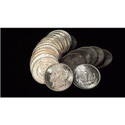 Roll of 1921 BU Morgan Silver Dollars
