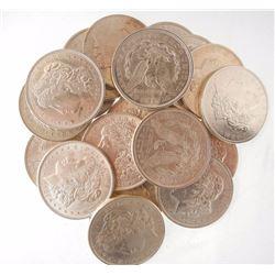 (20) BU 1921 Morgan Silver Dollars