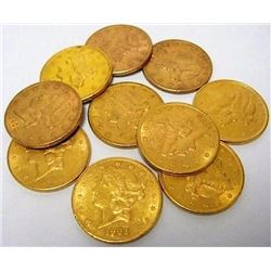 (1) $ 20 Gold Liberty Double Eagle from group