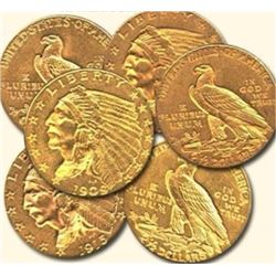 Random Date $ 2.5 Gold Indian (1) From Image