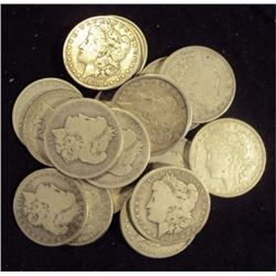 Lot of (20) Morgan Dollars MIxed Dates