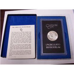 1878 CC GSA Key Date Morgan Silver Dollar