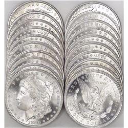 Mixed Date 1880-89 CH BU Morgan Dollars
