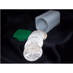 Roll of Mint Issued Silver Eagles (20 pcs)