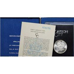 1882 Carson City GSA Morgan Silver Dollar