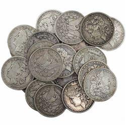 Lot of (20) XF AU Grade Morgan Dollars