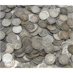 Lot of 200 Mixed Grade Morgan Dollars