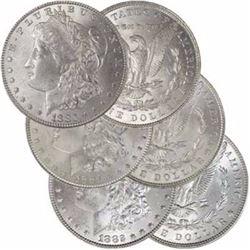 1880-1881-1882 P BU  Morgan Dollars