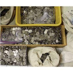 10,000 Mixed Date Buffalo Nickels!